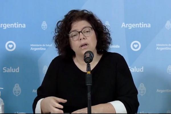 Carla Vizzotti secretaria de acceso a la Salud