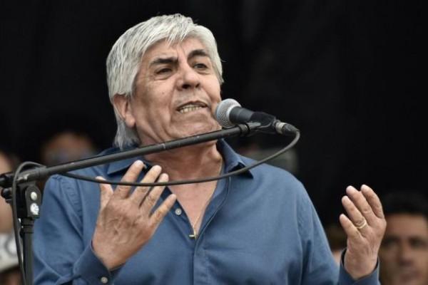 Hugo moyano marcha