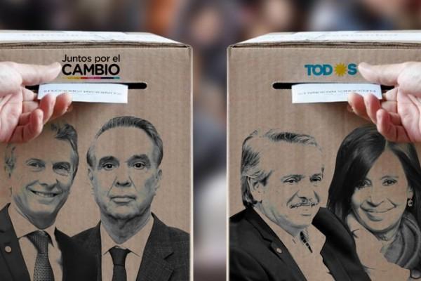 Macri Pichetto Alberto Fernandez Cristina Kirchner