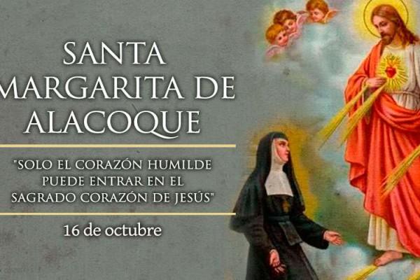 MargaritaAlacoque 16Octubre