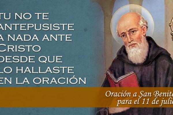 OracionBenito11Julio 040716