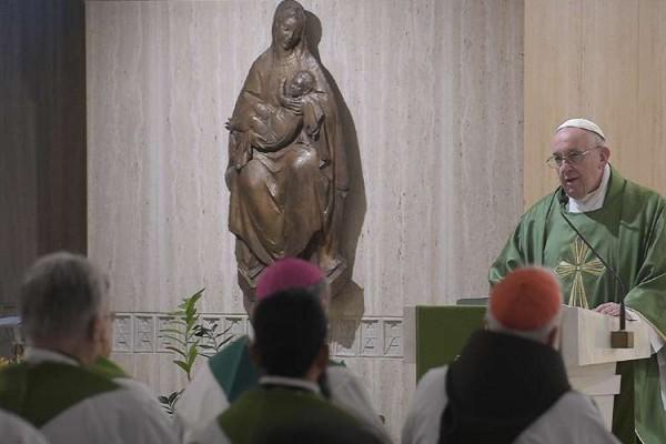 PapaFrancisco MisaCasaSantaMarta 18022020 VaticanMedia