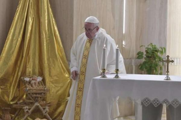 PapaSantaMarta7enero2019 VaticanMedia