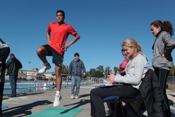 Se orienta a deportistas incluidos en el Programa de Becas que otorga el gobierno de la provincia de Santa Fe