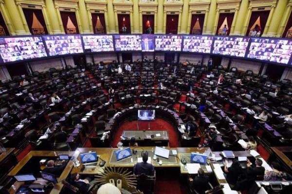 diputados debate hoy el aporte solidario y el presupuesto 2021