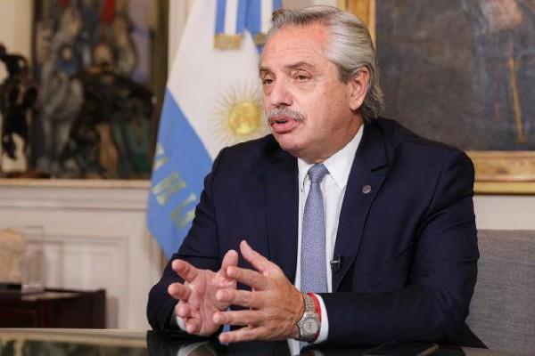 el presidente alberto fernandez se refirio la escasez mundial vacunas