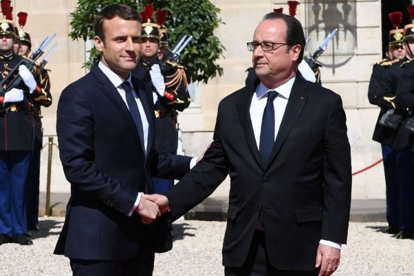 Resultado de imagen para Macron asumió como presidente de Francia