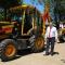 Las Municipalidad presentó nuevas maquinarias