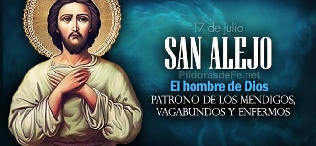 La iglesia recuerda hoy a San Alejo