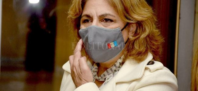 La ministra de Salud de la provincia tiene coronavirus