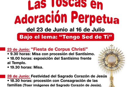 Las Toscas en Adoraciòn Perpetua