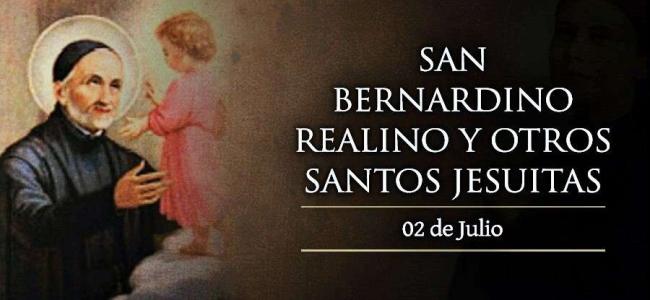 Hoy se celebra a San Bernardino Realino y otros santos jesuitas