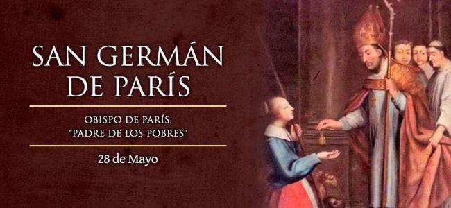Hoy es fiesta de San Germán de París