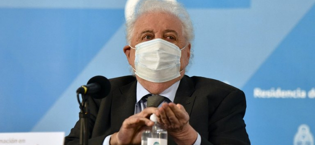 Ginés González García indicó que el Gobierno tiene aseguradas 51 millones de dosis contra el coronavirus