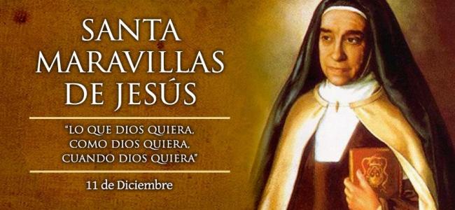 Hoy se celebra a Santa Maravillas de Jesús, de la Orden de las Carmelitas Descalzas