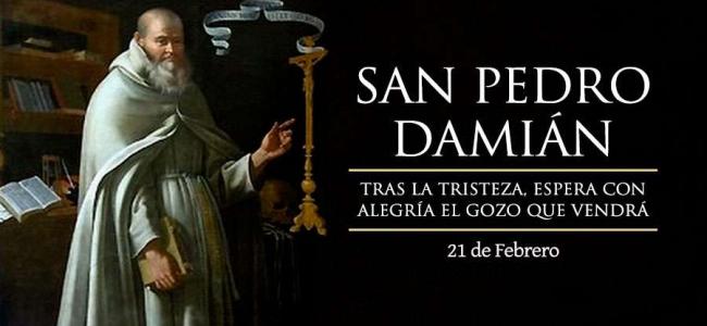 Hoy se celebra a San Pedro Damián, Doctor de la Iglesia