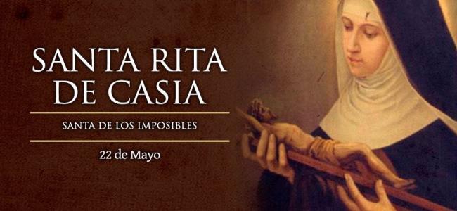 22 de mayo: Santa Rita de Casia