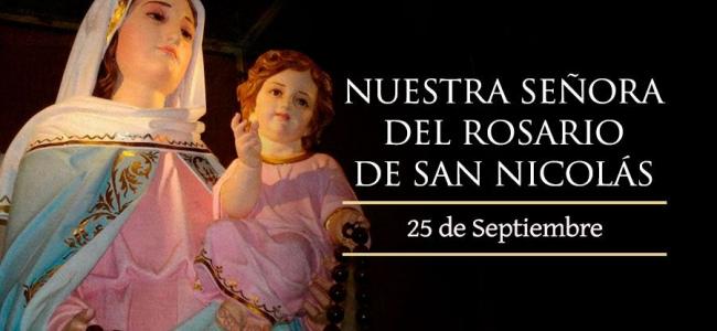 Día de la Virgen del Rosario de San Nicolás: ¿Por qué se celebra hoy el día?