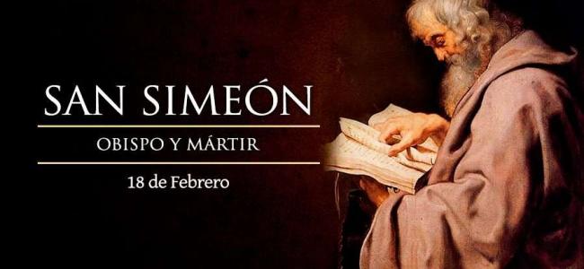 Hoy se conmemora a San Simeón, Obispo y Mártir
