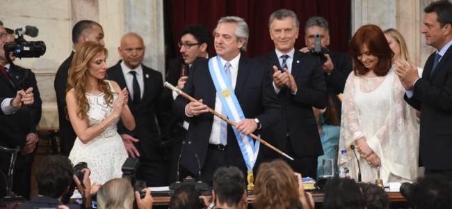 Alberto Fernández ya juró y es el nuevo presidente de Argentina