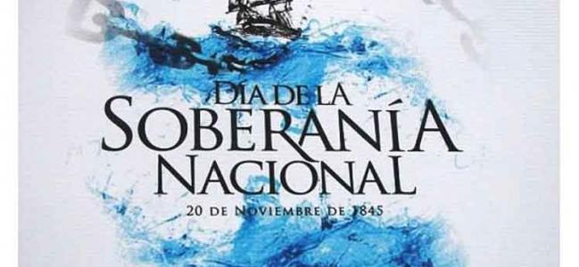 Hoy día de la Soberanía Nacional