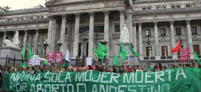 Aborto legal: el proyecto para la despenalización empieza su camino en el Congreso