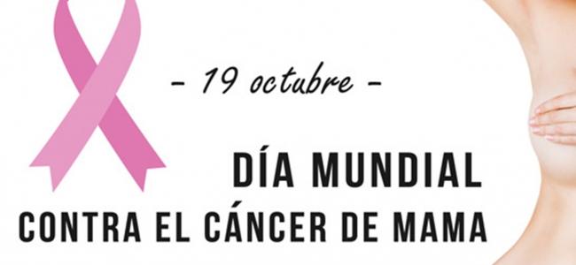 19 octubre: Día Contra el Cáncer de Mama