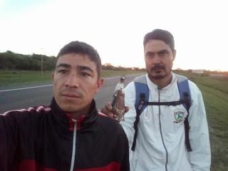 Caminaron desde Florencia  hasta Itatí