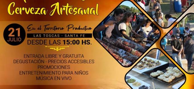 2do paseo de Gastronomía y Cerveza Artesanal en Las Toscas
