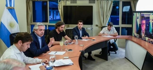 Coronavirus en Argentina: Alberto Fernández vuelve a consultar a los gobernadores para definir cómo sigue la cuarentena