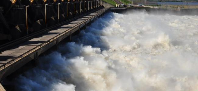 Lluvias en Brasil preocupan al litoral y Yaciretá