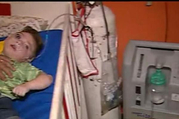 Joaquín es un paciente electrodependiente de 2 años (Captura C5N)