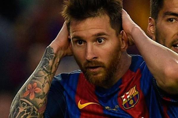 Le mantuvieron la condena a Messi.