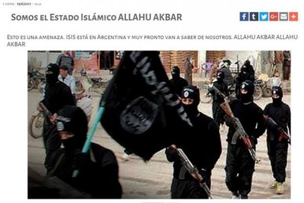 El Ejército, una de las tres ramas de las Fuerzas Armadas, aún no se ha pronunciado al respecto, aunque el sitio web se encuentra