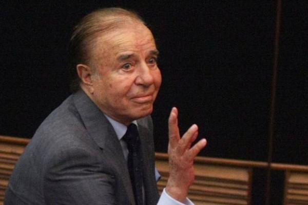 Carlos Menem, expresidente de la Nación. La Justicia Electoral Nacional hizo lugar a una presentación de un ciudadano bonaerense.