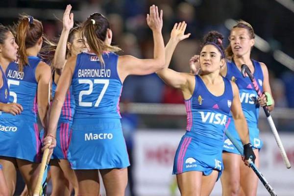 Las Leonas marchan con puntaje ideal en esta Liga Mundial. (Foto Villarpress).