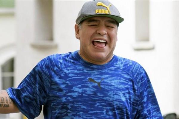 Maradona será abuelo por segunda vez.