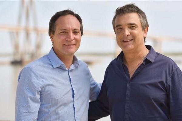 Luego de febriles negociaciones, Espínola y Artaza anunciaron la fórmula.