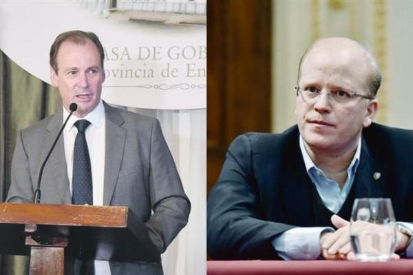 Gustavo Bordet y Luis Contigiani.