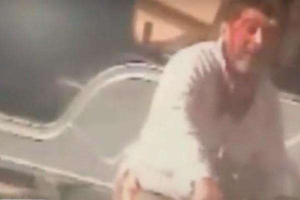 Osvaldo Aguilera, detenido por el crimen (captura de TV C5N)