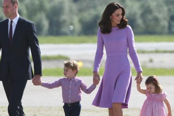 Los príncipes ya son padres de George y Charlotte