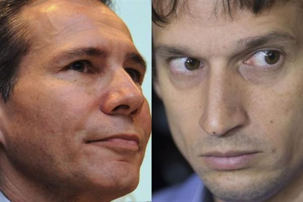 Alberto Nisman y Diego Lagomarsino