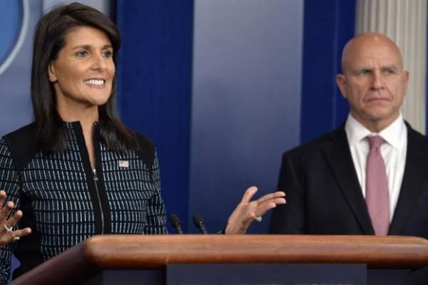 Nikki Haley, embajadora ante el organismo internacional, señaló que lo harán en caso de defensa.