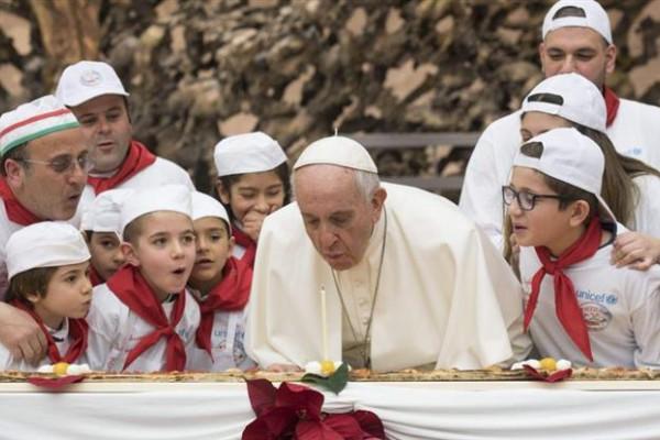 El Papa Francisco cumplió 81 años.