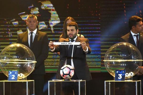 Conmebol sorteó las copas Libertadores y Sudamericana.