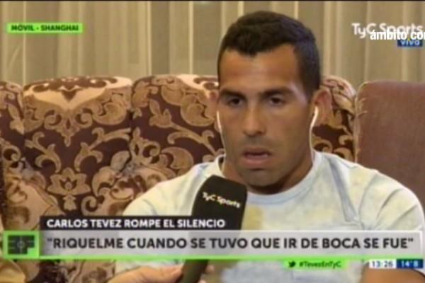 """Resultado de imagen para Tevez se cansó de Riquelme y desató un """"cabaret"""" entre ídolos de Boca"""