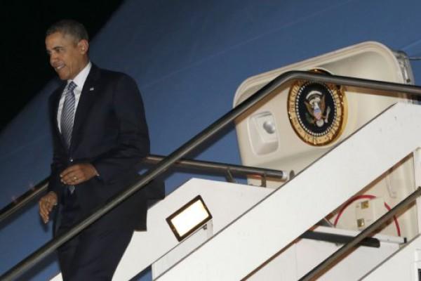 Obama llega esta medianoche y mañana irá al Parque de la Memoria