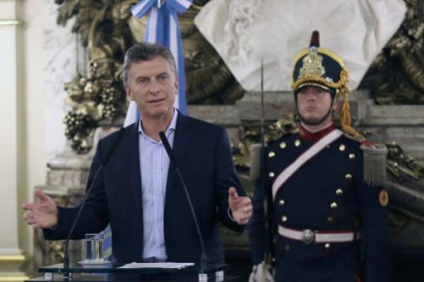 Macri inaugura mañana las sesiones del Congreso
