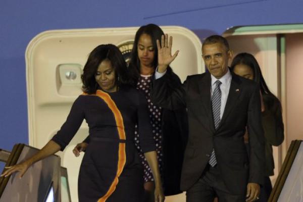 Obama llegó al país en medio de un alerta mayor