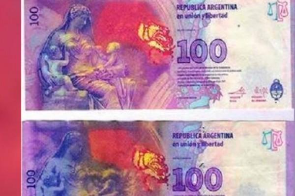 Crece el número de estafas con billetes de $ 100 truchos